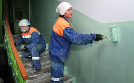 Текущий ремонт подъезда многоквартирного дома