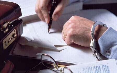 Подделка подписи на документах ─ <подделка документов>