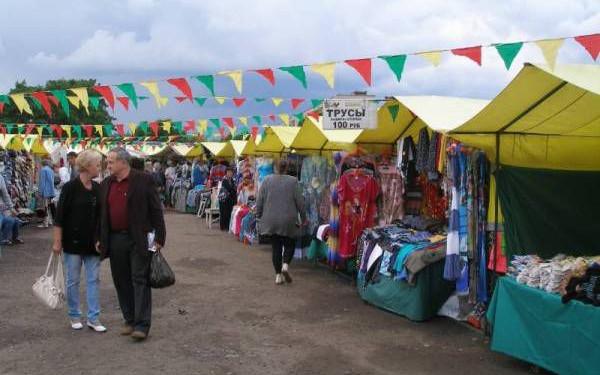 Торговой палаткой