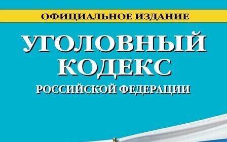 Уголовный кодекс РФ 2019 в последней редакции