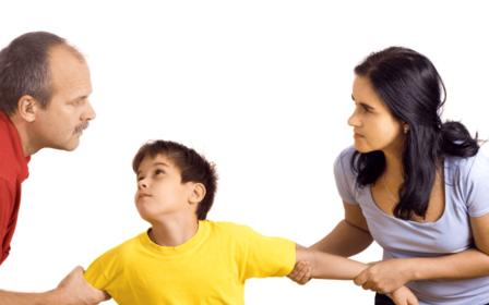 Жена не даёт видеться с ребёнком