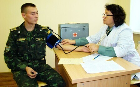 Заболевания, полученные на воинской службе