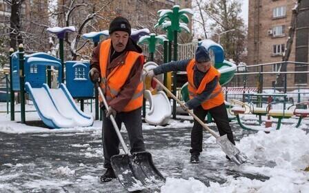 Расценки по уборке снега вручную