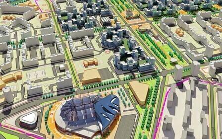 Проект межевания квартала