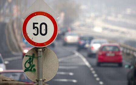 """Какова зона действия знака """"Ограничение скорости""""?"""