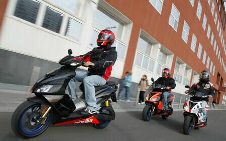 Категория на управление скутером