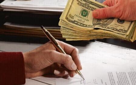 Правила написания расписки в получении денежных средств