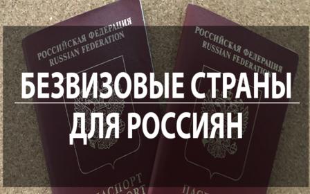 Безвизовые страны для россиян в 2019 году – полный список