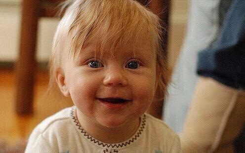 Довольный ребенок