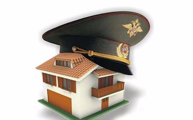 Шапка военного и ключи от квартиры