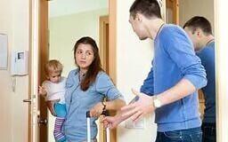 Жена выгнала из дома. Как вселиться в квартиру?