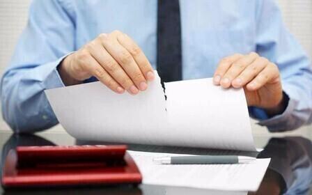 Как расторгнуть договор до его исполнения