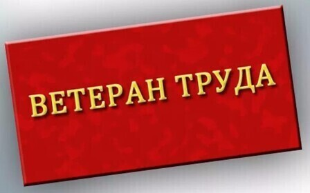 Получение ветерана труда в Санкт-Петербурге в 2018 году