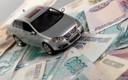 Машина на деньгах