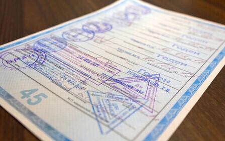 Номер лицензии на медицинской справке для получения водительских прав