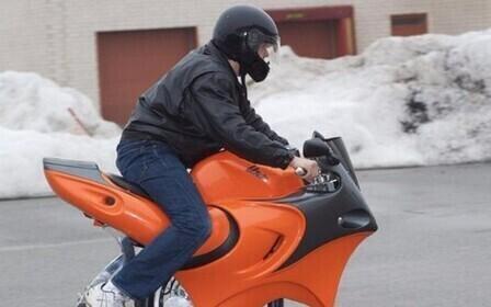 Как вернуть мотоцикл